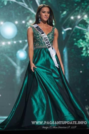 Miss North Dakota USA 2017 Evening Gown